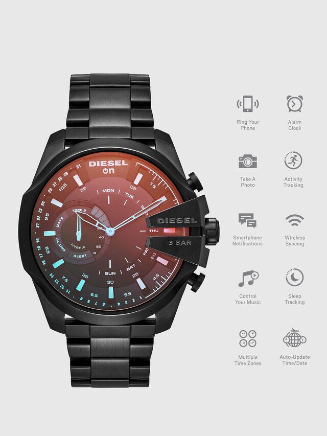 Diesel - DT1011, Noir - Smartwatches - Image 1