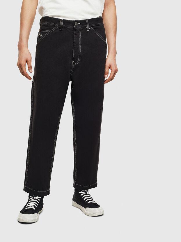 P-LAMAR, Noir - Pantalons