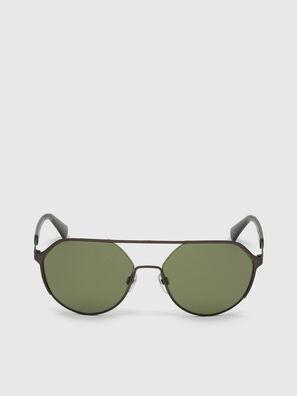DL0324, Noir/Vert - Lunettes de soleil