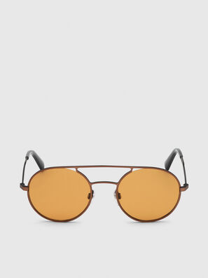 DL0301, Orange/Noir - Lunettes de soleil