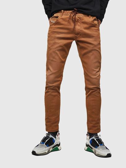 Diesel - Krooley JoggJeans 0670M, Marron - Jeans - Image 1