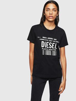 T-SILY-ZF, Noir - T-Shirts