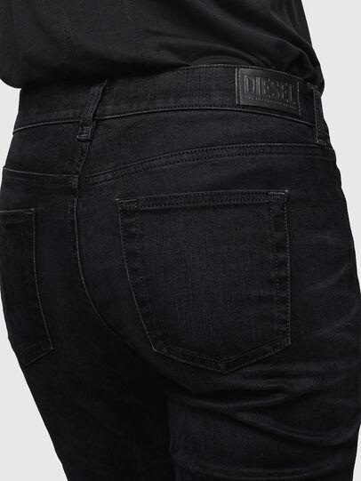 Diesel - D-Ebbey 0091I, Noir/Gris foncé - Jeans - Image 5
