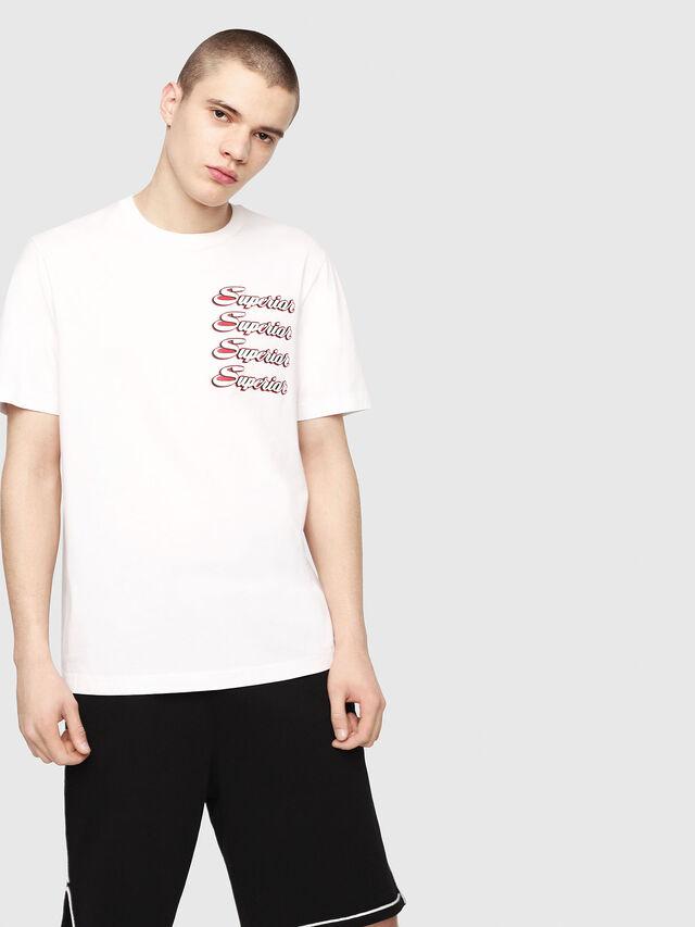 Diesel - T-JUST-Y13, Blanc - T-Shirts - Image 1