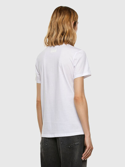 Diesel - T-SILY-E53, Blanc - T-Shirts - Image 6