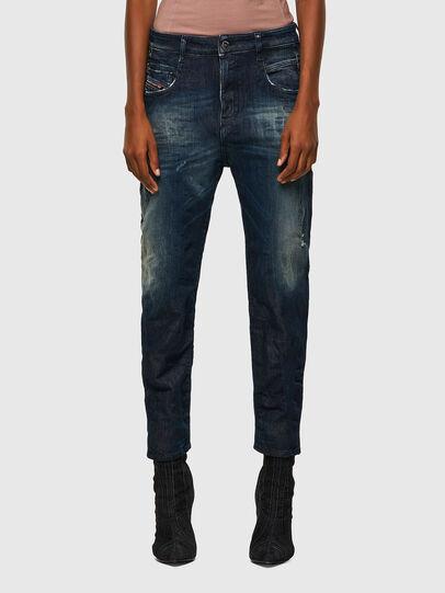 Diesel - Fayza JoggJeans® 09B50, Bleu Foncé - Jeans - Image 1