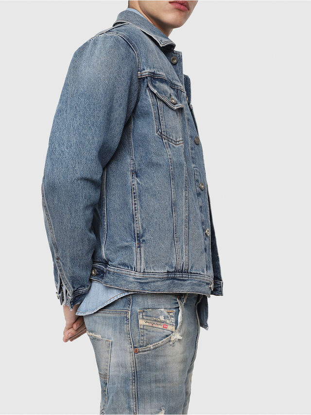 Diesel - Krooley JoggJeans 087AE, Bleu Clair - Jeans - Image 3