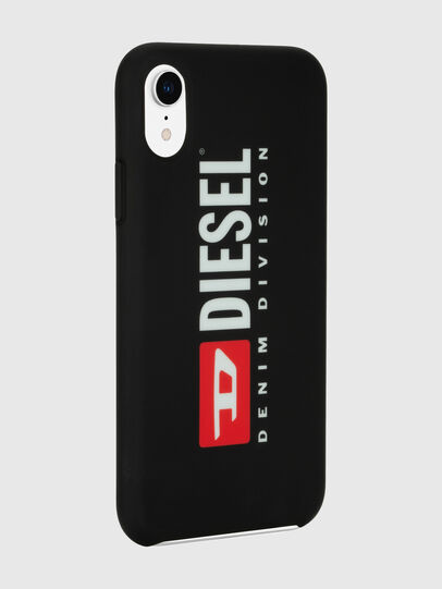 Diesel - DIESEL PRINTED CO-MOLD CASE FOR IPHONE XR, Noir/Blanc - Coques - Image 6
