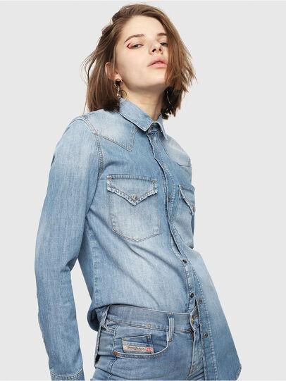 Diesel - DE-RINGY, Jean Bleu - Chemises en Denim - Image 1