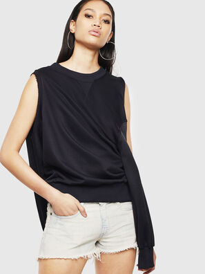 F-INVERT, Noir - Pull Cotton