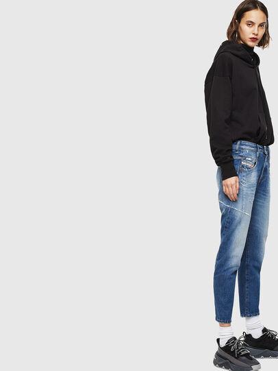 Diesel - Fayza 0097B, Bleu moyen - Jeans - Image 5
