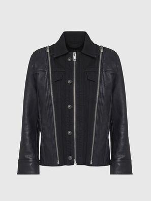L-LAZAY, Noir - Vestes de cuir