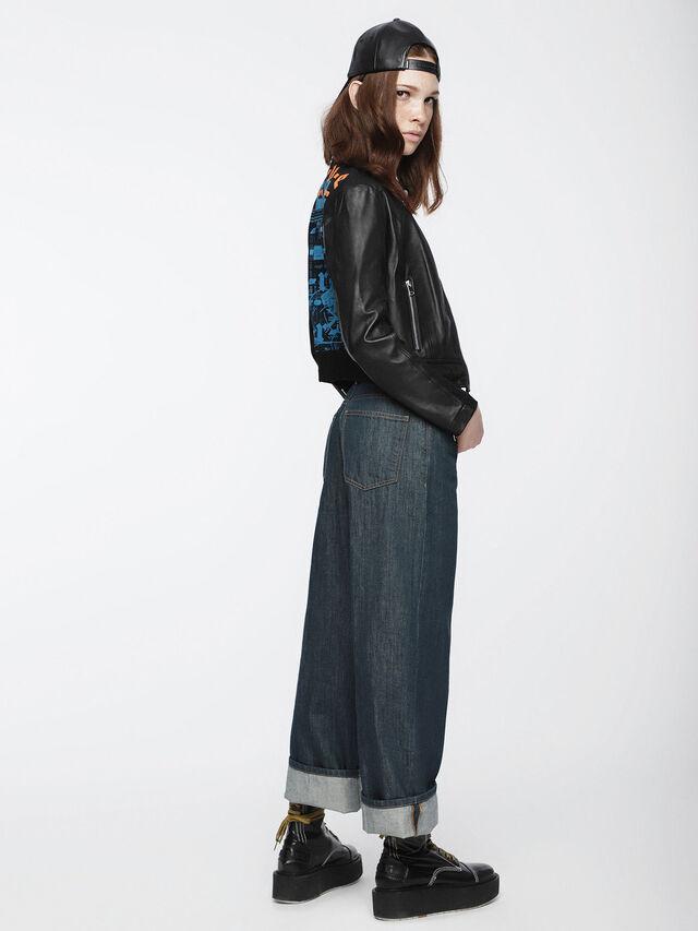 Diesel - Widee 084UR, Bleu Foncé - Jeans - Image 4