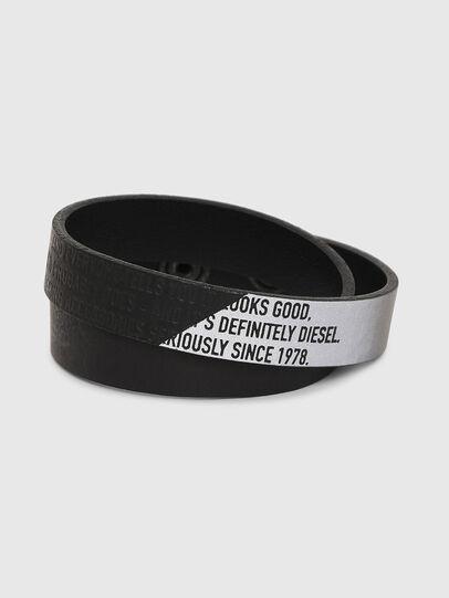 Diesel - A-CCA, Noir - Bijoux et Gadgets - Image 1