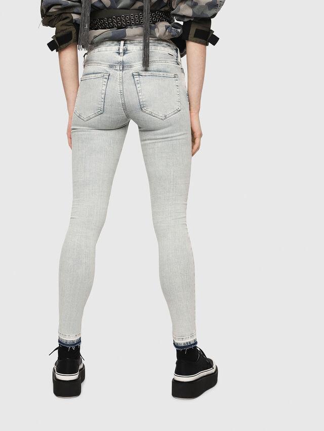 Diesel - Slandy 086AF, Bleu Clair - Jeans - Image 2