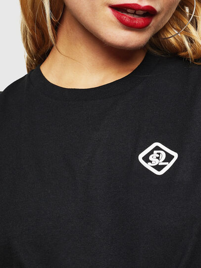 Diesel - CC-T-DIEGO-COLA, Noir - T-Shirts - Image 5