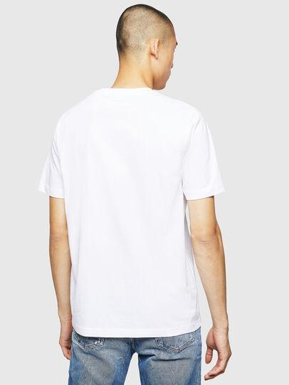 Diesel - T-JUST-B23, Blanc - T-Shirts - Image 2