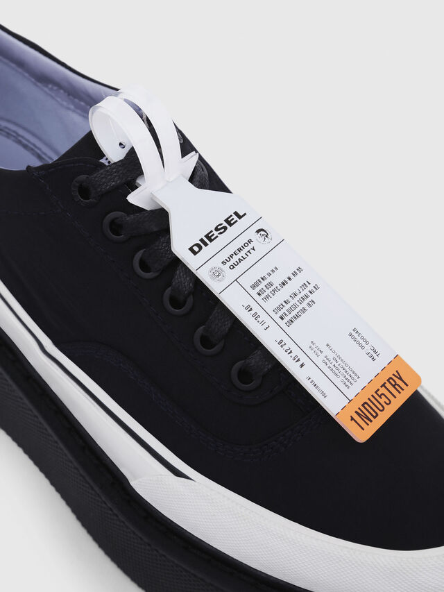 Diesel - H-SCIROCCO LOW, Noir - Baskets - Image 4