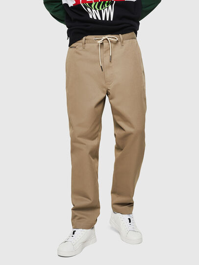 Diesel - P-MORGY, Marron Clair - Pantalons - Image 1
