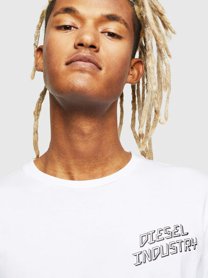 Diesel - T-DIEGO-LS-J1, Blanc - T-Shirts - Image 4