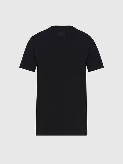 Diesel - T-SILY-E56, Noir - T-Shirts - Image 2