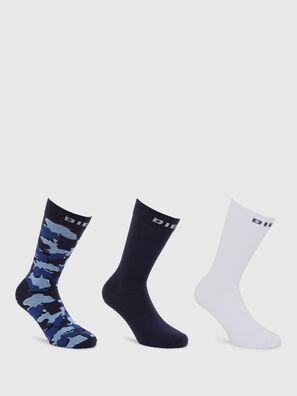 SKM-RAY-THREEPACK, Noir/Bleu - Chaussettes