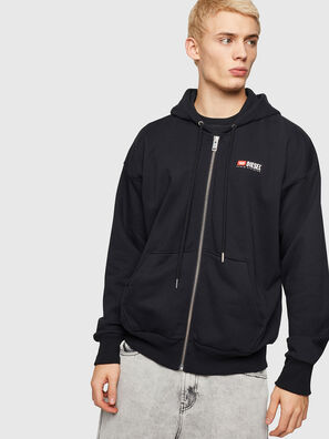 S-ALBY-ZIP-DIV,  - Pull Cotton
