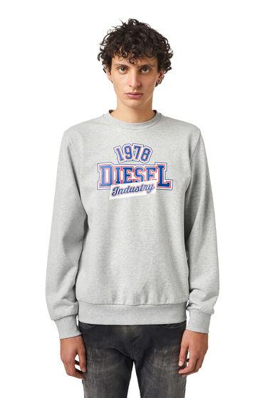Sweat-shirt avec imprimé Diesel Industry