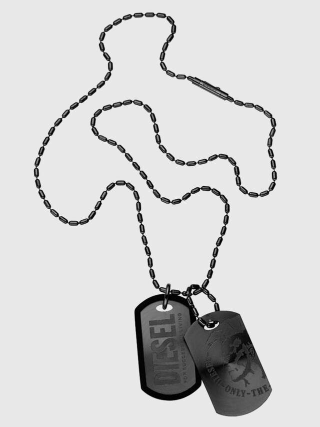 Diesel - TWO STEEL SUNRAY DOG, Noir - Colliers - Image 1