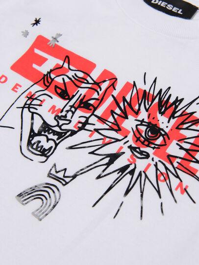 Diesel - TUDARIB, Blanc - T-shirts et Hauts - Image 3