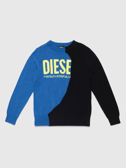 Diesel - KHALF, Bleu/Noir - Pull Maille - Image 1