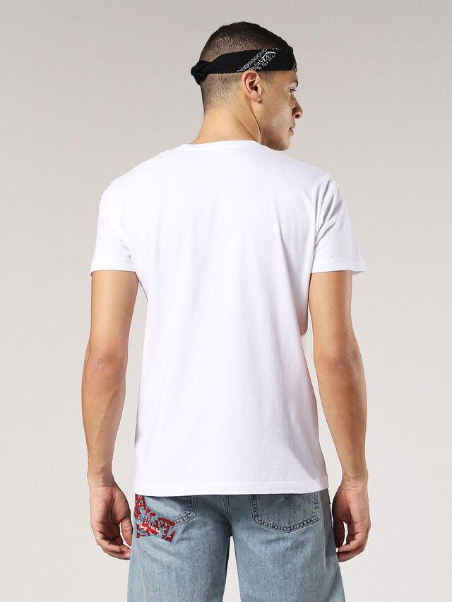 T-DIEGO-SX, Blanc