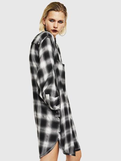 Diesel - D-SUNNY-A, Noir/Blanc - Robes - Image 5