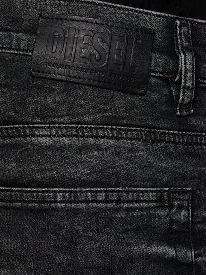 Diesel - D-Reeft JoggJeans 009FZ, Noir/Gris foncé - Jeans - Image 4