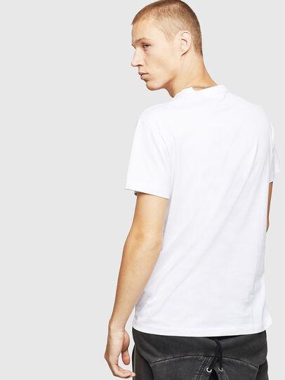 Diesel - T-DIEGO-B17, Blanc - T-Shirts - Image 2
