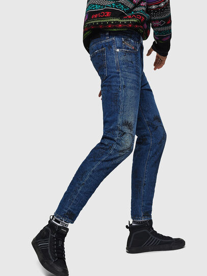 Diesel - Mharky 0078S, Bleu moyen - Jeans - Image 5