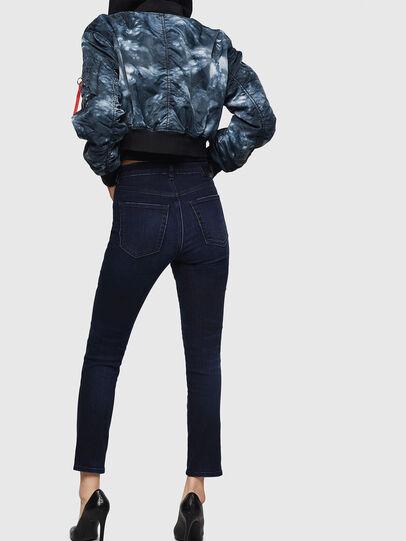 Diesel - Babhila High 083AG, Bleu Foncé - Jeans - Image 2