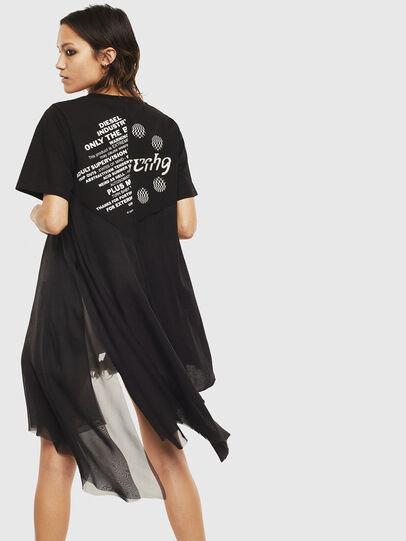 Diesel - T-SETH, Noir - T-Shirts - Image 2