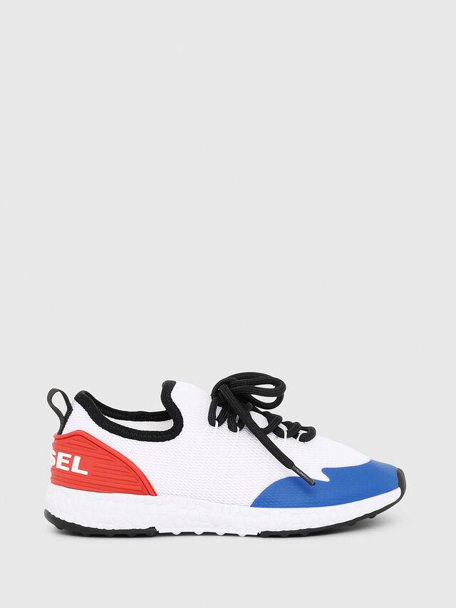 Diesel - SN LOW 10 S-K YO, Blanc/Rouge/Bleu - Footwear - Image 1