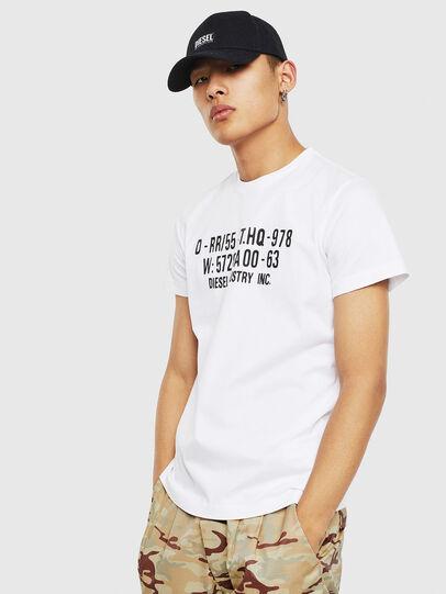 Diesel - T-DIEGO-S2, Blanc - T-Shirts - Image 1