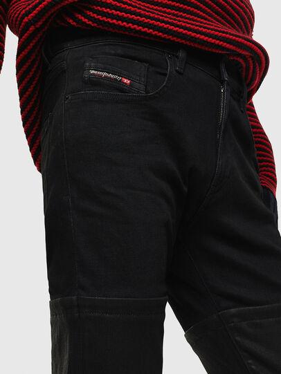 Diesel - D-Strukt 0091W, Noir/Gris foncé - Jeans - Image 4