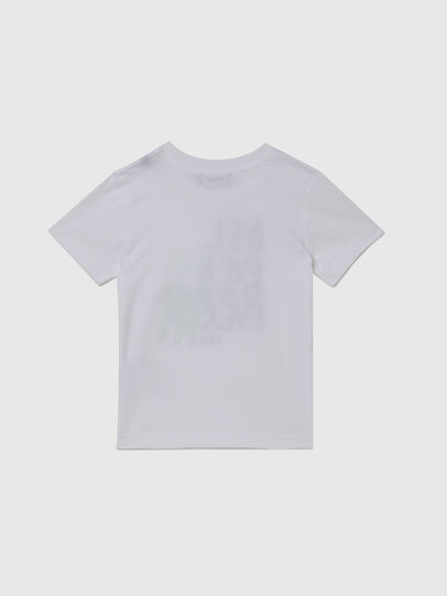 Diesel - TORTUB-R, Blanc - T-shirts et Hauts - Image 2
