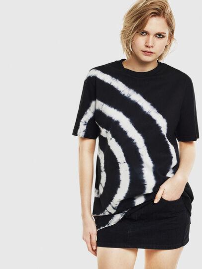 Diesel - T-JUST-T16, Noir/Blanc - T-Shirts - Image 2