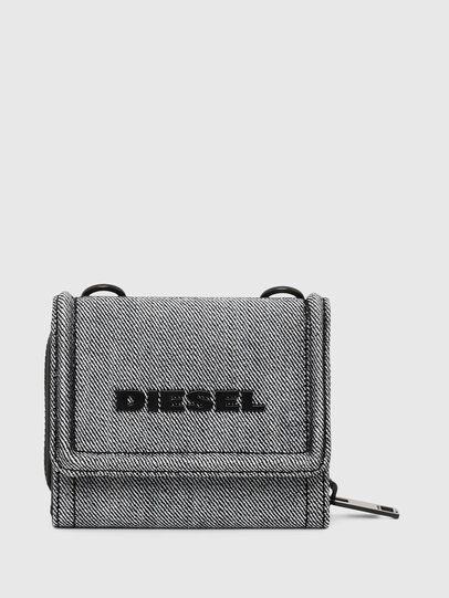 Diesel - LORY, Gris - Petits Portefeuilles - Image 1