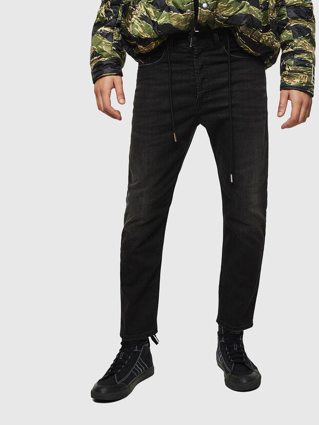 D-Eetar 069BG, Noir/Gris foncé - Jeans