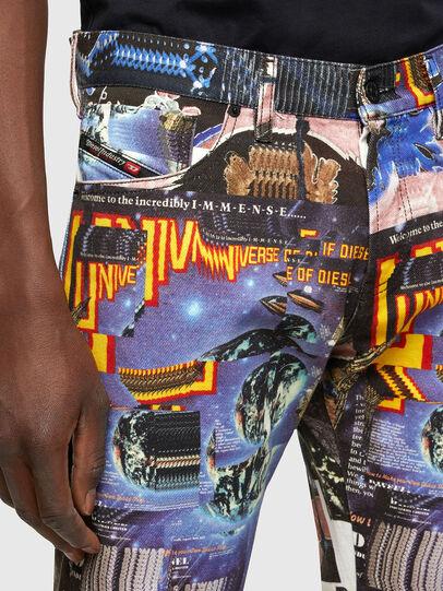 Diesel - D-Kras 009VB, Multicolore - Jeans - Image 3