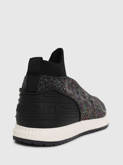 Diesel - SLIP ON 03 LOW SOCK, Noir - Footwear - Image 4