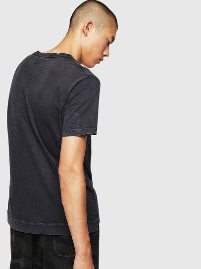 Diesel - T-THEA, Noir - T-Shirts - Image 2