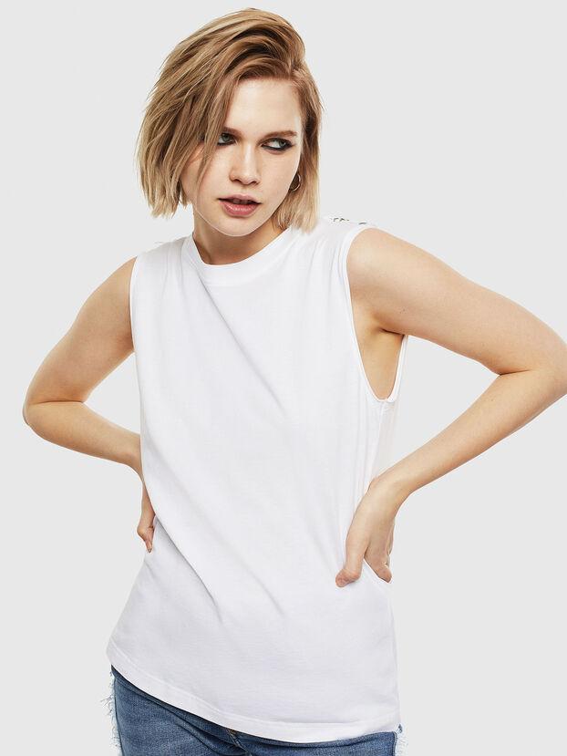 T-LESLEE-A, Blanc - T-Shirts