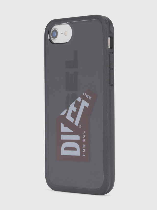 Diesel - STICKER IPHONE 8/7/6S/6 CASE, Noir - Coques - Image 4